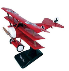 FOKKER Dr.1 German WW1 Fighter Triplane Red Baron Model Assembly Kit NewRay