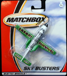 """Sky Busters Safari Survival MATCHBOX 5"""" Airplane FREE SHIPPING"""