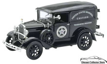 1931 Ford Model A US Marshall Paddy Wagon NewRay Diecast 1:32 FREE SHIPPING