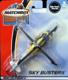 Sky Busters Helicopter MATCHBOX HERO CITY Collection Diecast FREE SHIPPING
