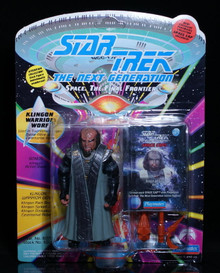 "STAR TREK King Warrior WORF Next Generation Playmates 5"" Action Figure"