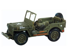 Willys Jeep U.S. Army NewRay City Cruiser Diecast 1:32 Scale