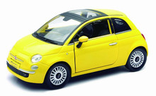 Fiat 500 NEWRAY Diecast 1:24 Scale Yellow
