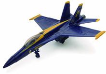 F/A-18 U.S. Navy Blue Angels Fighter Jet NewRay 1:72 Scale Model Assembly Kit
