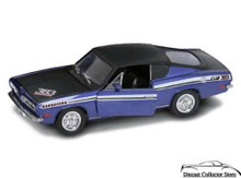 1969 Plymouth Barracuda 383 ROAD SIGNATURE Diecast 1:18 Scale Purple