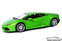 Lamborghini Huracan LP 610-4 MAISTO SPECIAL EDITION Diecast 1:24 Scale Green