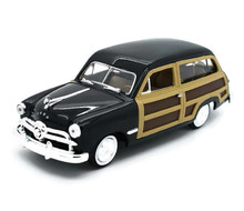 1949 Ford Woody Wagon MOTORMAX Diecast 1:24 Scale Black MIB