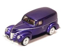 1940 Ford Sedan Delivery AMERICAN CLASSICS Diecast 1:24 Scale Purple