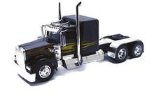 KENWORTH W900 CUSTOM Cab Tractor NEWRAY Diecast 1:32 Scale Black w/Flames