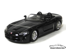 2003 Dodge Viper SRT-10 WELLY Diecast 1:18 Scale Black