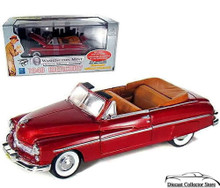 1949 Mercury Convertible w/Display Showcase Washington Mint Diecast 1:24 Scale