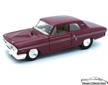1964 Ford Fairlane Thunderbolt MAISTO Diecast 1:24 Scale Custom Racing Slicks