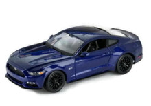 2015 Ford Mustang GT MAISTO SPECIAL EDITION  Diecast 1:18 Scale Navy Blue