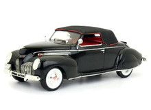 1939 Lincoln Zephyr SIGNATURE MODELS Diecast 1:18 Scale Black
