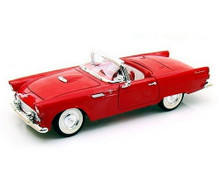 1955 Ford Thunderbird ROAD SIGNATURE YAT MING Diecast 1:18 Scale Red