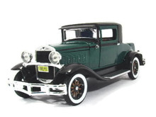 1930 Hudson Great Eight Coupe SIGNATURE MODELS Diecast 1:32 Green FREE SHIPPING
