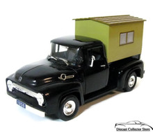 1956 Ford F-100 Camper Pickup SIGNATURE MODELS Diecast 1:32 Scale FREE SHIPPING