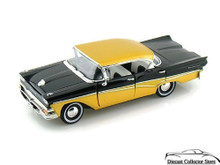 1958 Ford Fairlane 500 ARKO VINTAGE VEHICLE Diecast 1:32 Black & Gold FREE SHIPPING