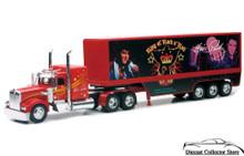 KENWORTH W900 Tractor Trailer Semi Hauler Elvis Blue Suede NEWRAY Diecast 1:32