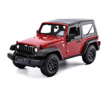 2014 Jeep Wrangler Willys MAISTO SPECIAL EDITION Diecast 1:18 Scale Red 31676