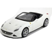 Ferrari California T Open Top MAISTO SPECIAL EDITION Diecast 1:18 White