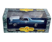 1970 Chevrolet El Camino SS454 AMERICAN MUSCLE Diecast 1:18 Scale Blue