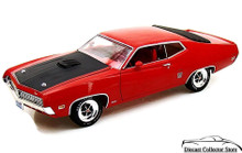 1971 Ford Torino Cobra Ertl American Muscle 10 Years Diecast 1:18 Scale Red