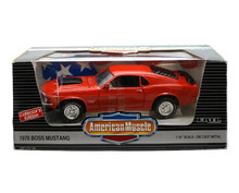 1970 Ford Boss 429 Mustang Ertl AMERICAN MUSCLE Diecast 1:18 Sale Red