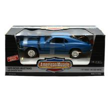 1970 Ford Boss 302 Mustang Sharker Hood Ertl AMERICAN MUSCLE Diecast 1:18