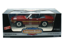 1969 Ford Shelby GT-500 Mustang Convertible Ertl AMERICAN MUSCLE Diecast 1:18
