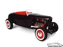 1932 Ford Street Rod American Muscle ERTL Diecast 1:18 Scale Black