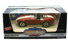 1964 Shelby Cobra 427 S/C Ertl American Muscle Diecast 1:18 Scale Red