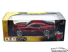 2006 Chevrolet Chevy Camaro Jada BIGTIME KUSTOMS Diecast 1:18 Scale Red