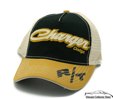 HAT - Dodge Charger Mess Embroidered Vented Trucker Style Ball Cap FREE SHIPPING