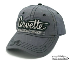 Hat - Chevrolet Corvette Sting Ray Embroidered Ball Cap Adjustable FREE SHIPPING