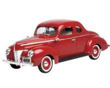 1940 Ford Coupe MOTORMAX AMERICAN CLASSICS Diecast 1:18 Scale Red