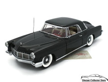 FRANKLIN MINT 1956 Lincoln Continental Mark II Diecast 1:24 Scale Black