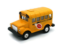 "School Bus with Pull Back Action "" Diecast Approximate 1:38 Scale"