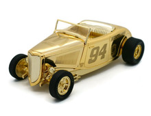 1933 Ford Roadster NASCAR 50th Anniversary 24K Gold LE Issue #1 Diecast 1:24