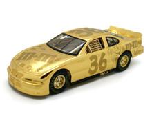 1999 Pontiac Ernie Irvan NASCAR 50th Anniversary 24k Gold LE Diecast 1:24