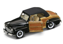 1946 Ford Sportsman Woody ROAD SIGNATURE Diecast 1:18 Scale Black