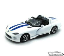 Dodge Viper RT/10 Bburago Diecast 1:43 Scale White
