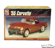 1955 Chevrolet Corvette w/Hardtop AMT Ertl Model Kit 1:25 Scale Sealed