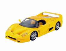 Ferrari F50 Bburago Diecast 1:24 Scale Yellow MIB
