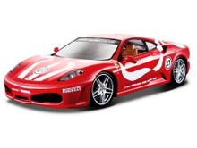 Ferrari F430 Fiorano Bburago Diecast 1:24 Scale Red & White MIB