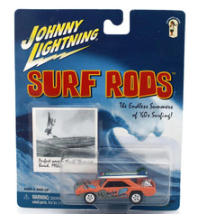 JOHNNY LIGHTNING 1960's SURF RODS Oahu Wahoos Diecast 1:64 Scale
