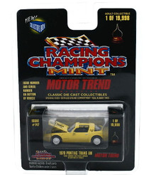 1978 Pontiac Trans Am RACING CHAMPONS Motor Trend LE Diecast 1:64 Scale