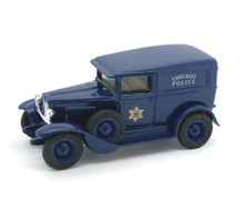 1930 Chevrolet Chicago Police Truck ERTL CLASSIC VEHILCLES Diecast 1:43 Scale