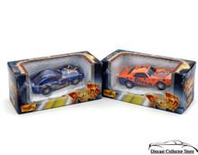 "Chevrolet Mini Power Racer Motorized MAISTO Diecast 3""  2 Car Set"