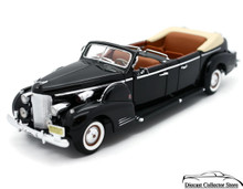 1938 Cadillac V-16 Presidential Limousine ROAD SIGNATURE Diecast 1:24 Scale